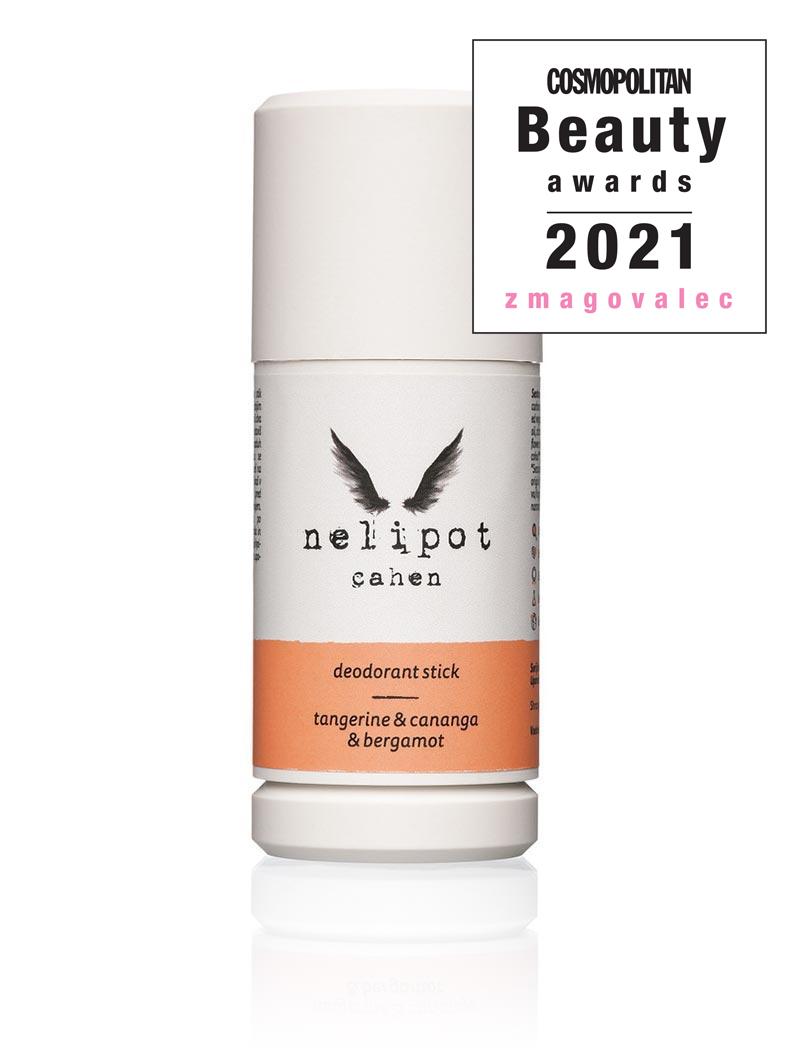 Nelipot dezodorant v stiku CAHEN - zmagovalec Cosmopolitan Beauty Awards 2021